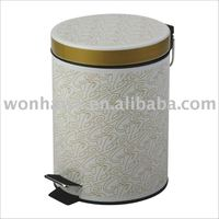 Powder Coating & Silk Screening Trash Can
