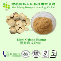 Medical Grade Cimicifuga Racemosa Extract Powder/Black Cohosh PE./High Quality Black Cohosh P.E.