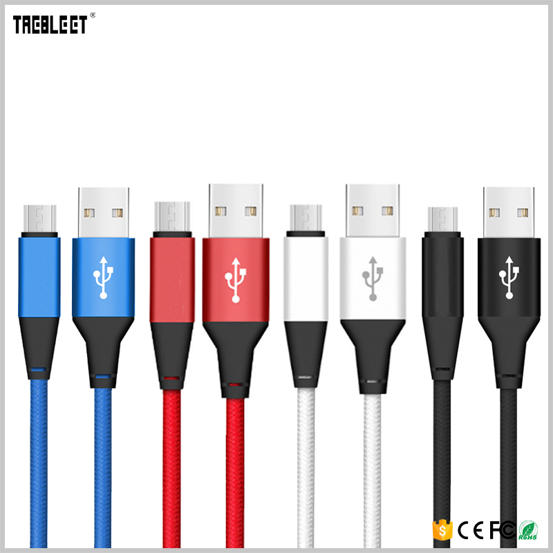 2017 Wholesale Portable Micro USB Cable For Mobile Phone Charger Data Cable