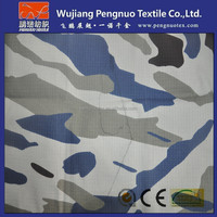 polyester cotton rip stop camouflage fabric with military digital camouflage printed for marine camouflage fabric