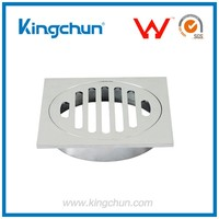 Watermark New Design Chrome plated floor sink drain waste grate cover(K1101)