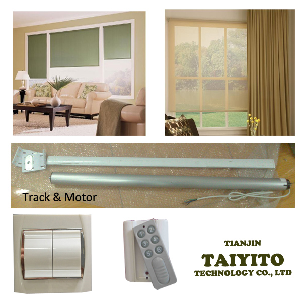 Factory TAIYITO Durable High Quality Electric Curtain System/Electric Curtain sets in Smart Home Automation System