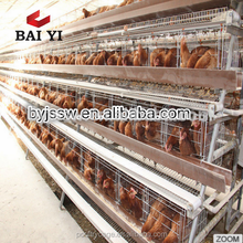 Large Chicken Battery Cages With Water System
