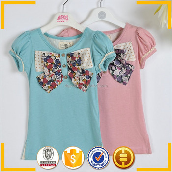 Pink and Green t shirt wholesale packaging , teen girl t shirt