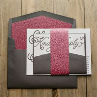 nice lace wrapping top grade printing invitation card craft
