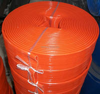 1.5 inch fire fighting pvc hose with grey cloth 16 bar Linyi offer saijun pipe
