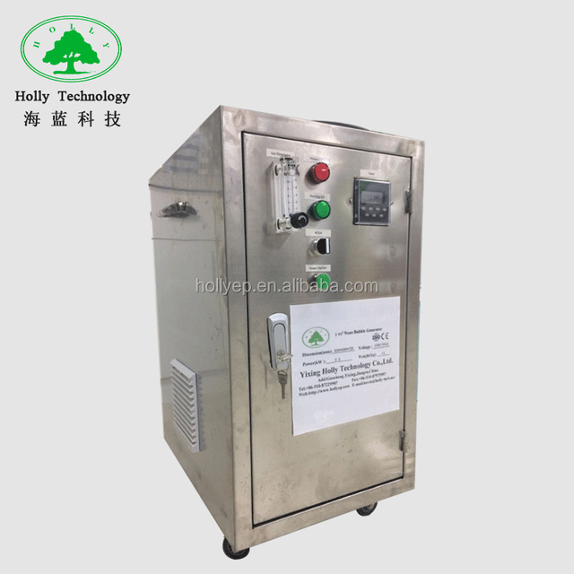 High oxygen transfer agricultural nano bubble generator machine made in china