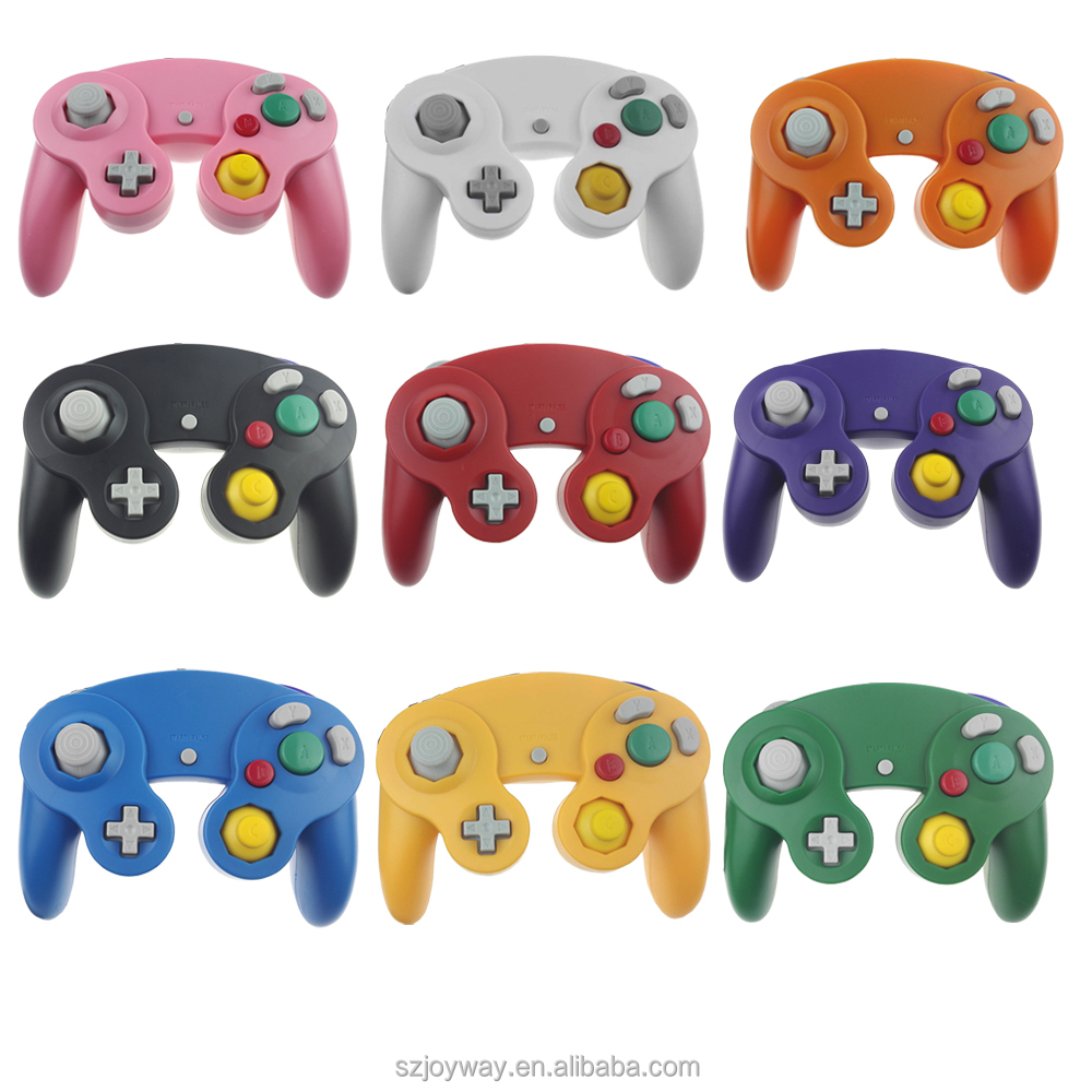 For Nintendo Gamecube NGC Wired Shock game Controller, Joypad ,Joystick