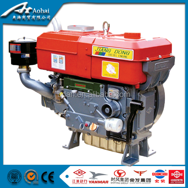 ZS1105 16HP chinese marine diesel engine with gearbox