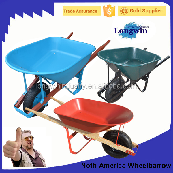 Wooden Handle Construction Agricultural Tools And Uses Wheelbarrow