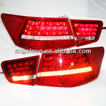 2009-2013 Year Cerato Forte Sedan LED Rear Lamp Red Color Super Lux