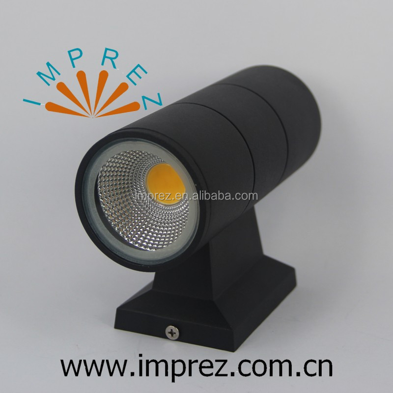Good price outdoor light up and down lights 6W 10W 14W cob outdoor wall light