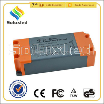 9-12*3W Constant Current LED Driver 600mA High PFC Non-stroboscopic With PC Cover For Indoor Lighting