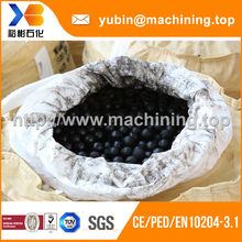 EN10204-3.1 certificate custom forged grinding steel ball shandong with factory price