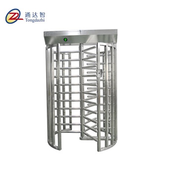 new design gate single channel full height turnstile rfid automatic gate systems