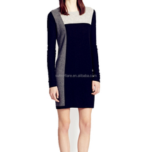 High Quality Knitted Women Cashmere Sweater Dress