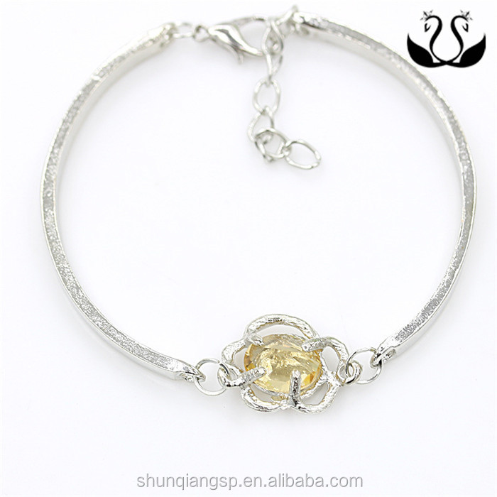 American jewelry wholesale fashion bracelet high-grade special offer rose Camellia Zircon Bracelet