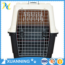 pet travel box convenient plastic airline approved dog transport box