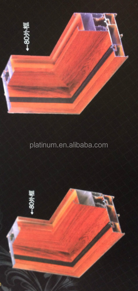 Aluminum Alloy doors with tempered safety glass