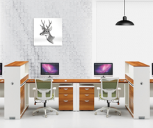 2018 new style modern office desk furniture office partition big lots computer desk