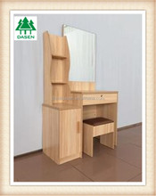 exclusive particle board dressing table with cupboard