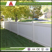 PVC privacy garden temporary fence panel