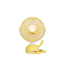 simple dolphin fan air cooler portable mini fan with rechargeable battery