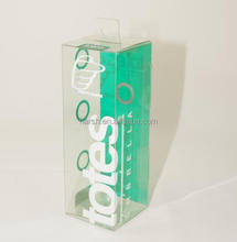 retail hanging plastic box packaging