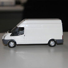 1:43 die cast simulation van model, ford diecast transit van model toy