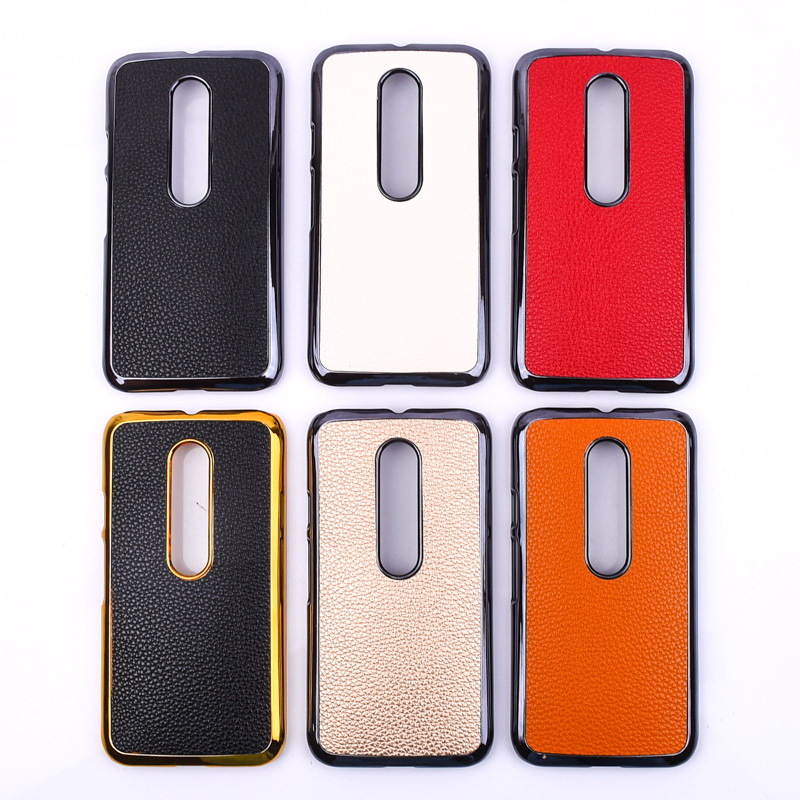 For Motorola Moto G3 cell phone case, For moto G3 pc case back case litchi pattern leather