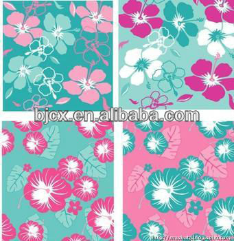 fashion design 100% polyester printed fabric textile