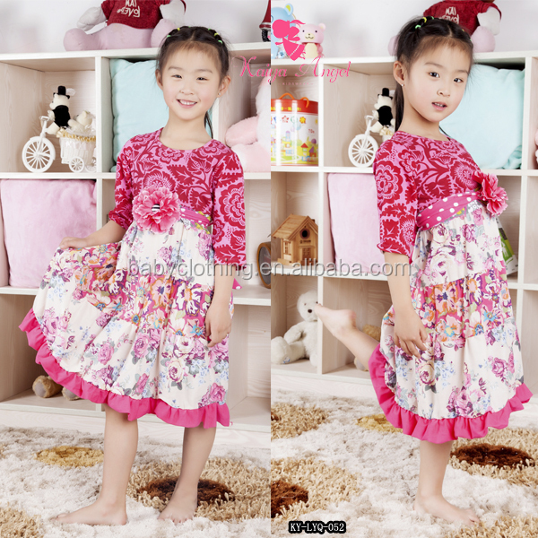 Made In China Children Boutique Clothes For Little Girls Stripe Dress Ruffles Pants Sets In Gorgeous Toddler Girls Clothing Sets