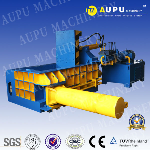 Hot sale Y81 Series hydraulic bale press for metal scrap With TUV