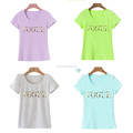 2017 Punk Style Summer Tshirt Harajuku Tumblr VOGUE Letter printed t shirt women Tops Blusa