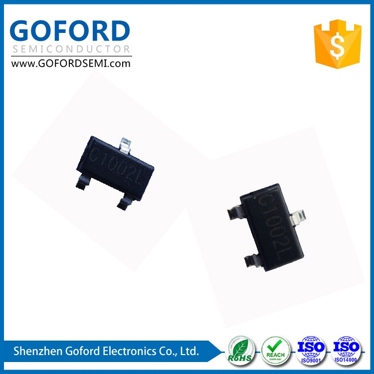 mosfet power amplifiers 1002L 100V 2A SOT-23-3 Transistor
