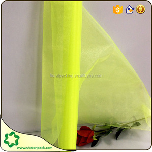 25m Roll Bottle Green Organza for Weddings, Table Runners, Sashes and Swags