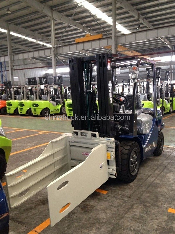 hot sale BANGLADESH cotton clamp 3ton forklift