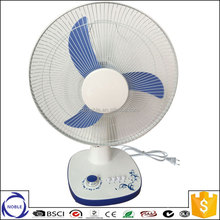 110v/220v 16inch electric table fan specifications for Europe and the United States market