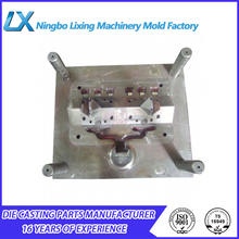 ningbo boomray own professional produce different kinds of plastic products wheel alloy aluminum die casting mould
