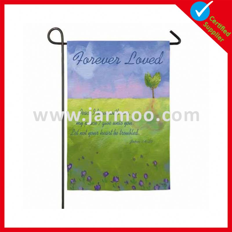 Outdoor advertising Top Quality for wholesale custom garden flag for wholesale
