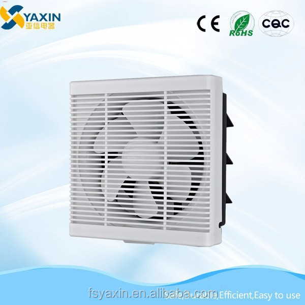 Wall-mounted 12 inch Square Exhaust Fan with Louver SR-E11