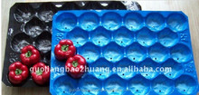 SGS/FDA Testing Vegetable Wholesale Plastic Serving Trays
