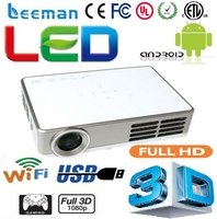 multimedia portable mini led projector android led projector/proyector/beamer