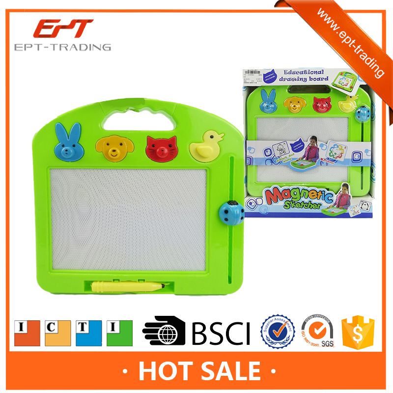 Kids intelligent toys magnetic drawing board toys