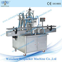 manufacturer plastic bottle liquid auto filling machine