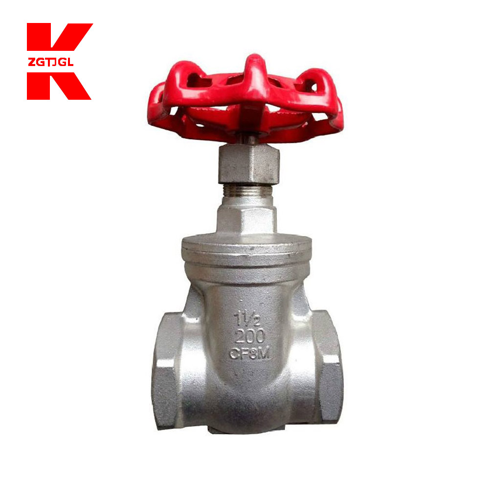 Knife carbon steel threaded gate valve price