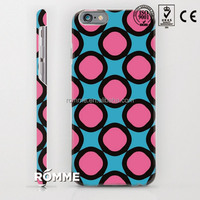 Professional china phone case manufacture custom 3D sublimation print cellphone back shell for iphone 6s