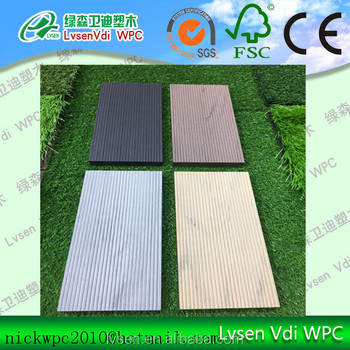 140*22 mm fireproof wpc decking board timber outdoor wood plastic composite deck flooring