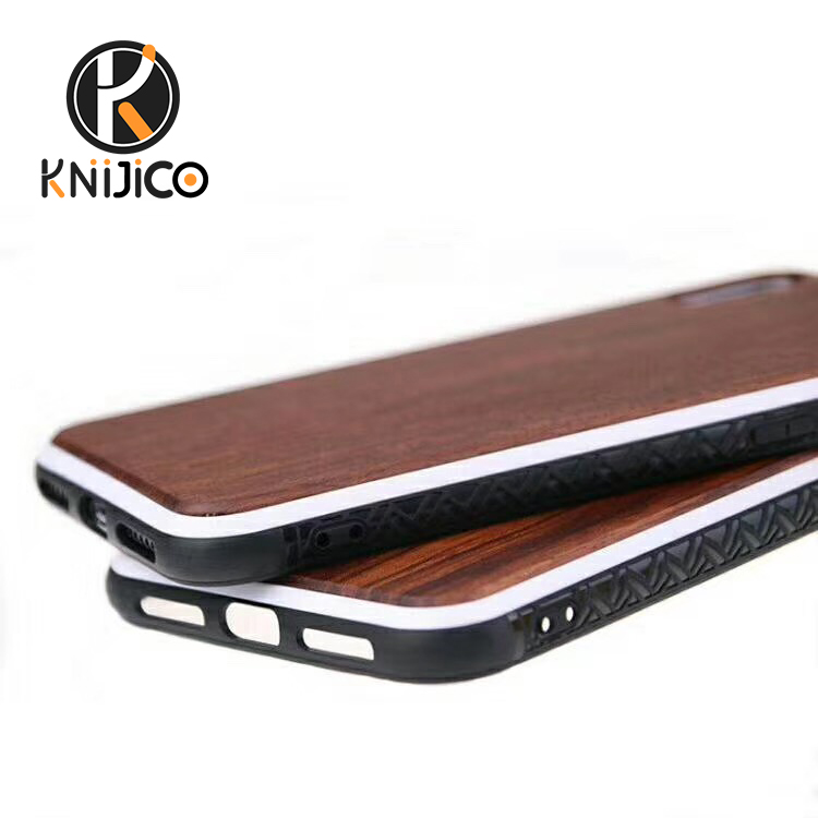 2019 natural 100% real bamboo rose wood maple walnut cherry wood cell phone case for iphone <strong>x</strong> <strong>10</strong>
