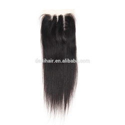 "Low price of 8a brazilian virgin hair lace closure 8""-24"" ombre extension 100% human closures"